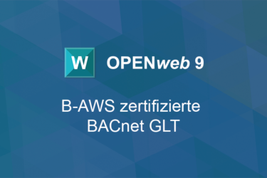 B-AWS certified OPEN<i>web</i> 9