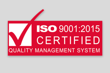 ISO certification: our quality underpinned!