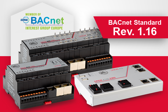 DDC controllers certified in accordance with latest BACnet standard