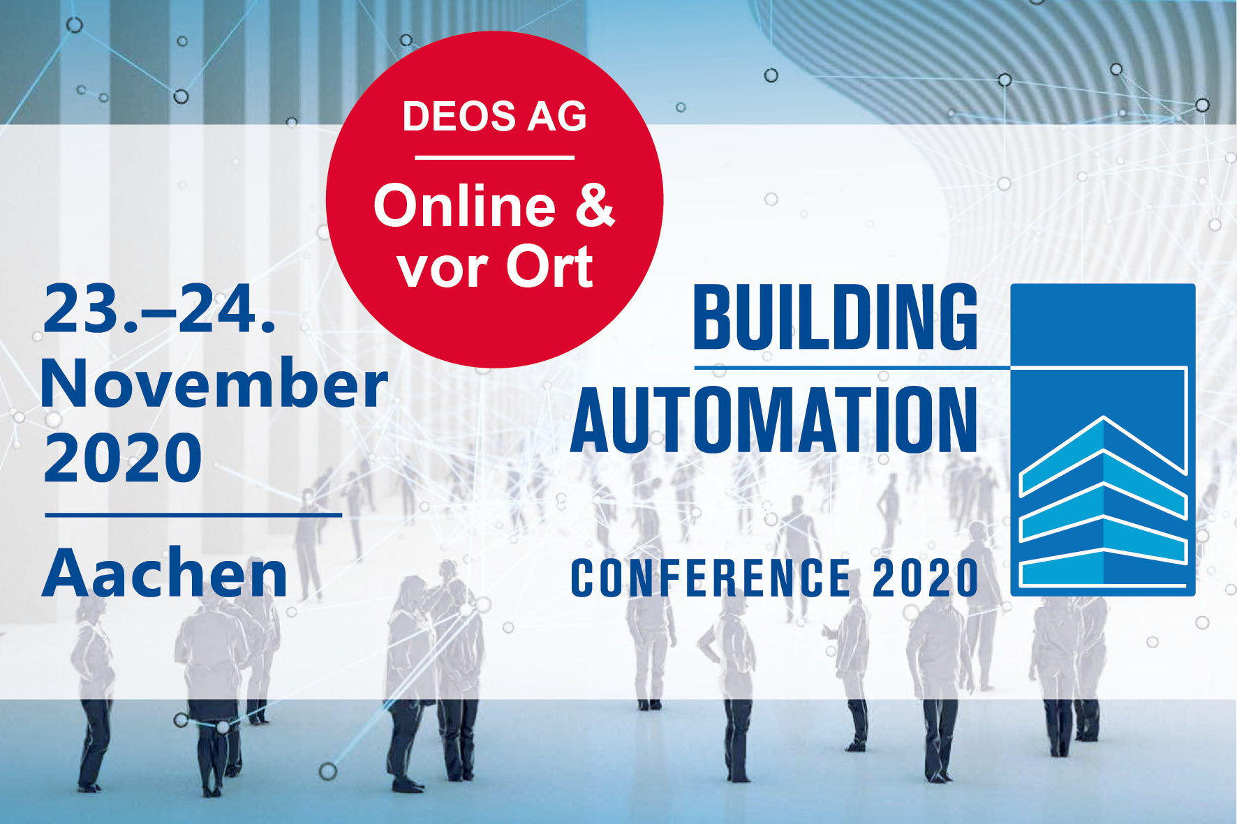 Building Automation Conference 2020 in Aachen