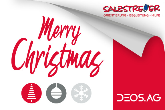 DEOS AG wishes you a Merry Christmas and a Happy New Year